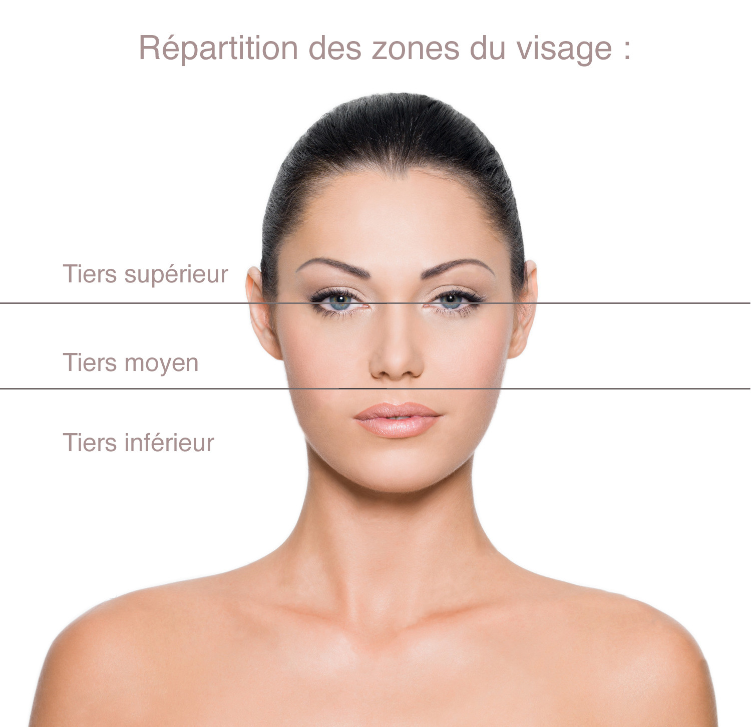 Répartition Visage